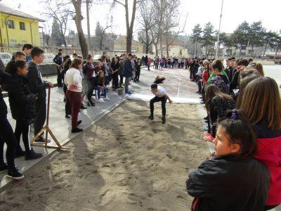 Състезание дълъг скок - Първо ОУ Иван Вазов - Свиленград