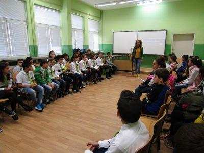 """Първи кръг на състезанието """"Будителите и аз"""" - Първо ОУ Иван Вазов - Свиленград"""