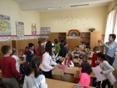 Участие на вазовци в седмицата на четенето - Първо ОУ Иван Вазов - Свиленград