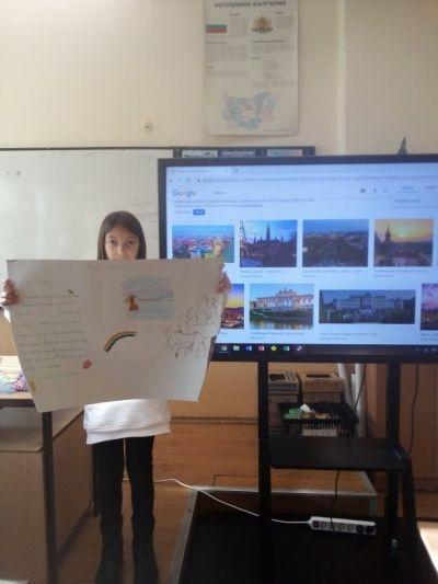 проект-пощенска-картичка-4а-4б-english - Първо ОУ Иван Вазов - Свиленград