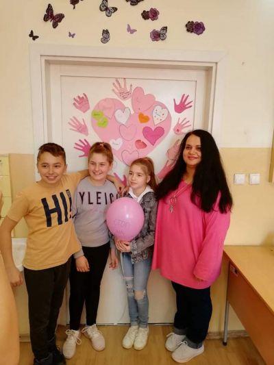 Ден на розовата фланелка - Първо ОУ Иван Вазов - Свиленград
